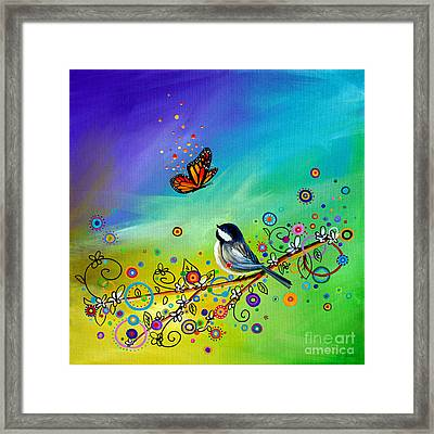 Greetings Framed Print by Cindy Thornton