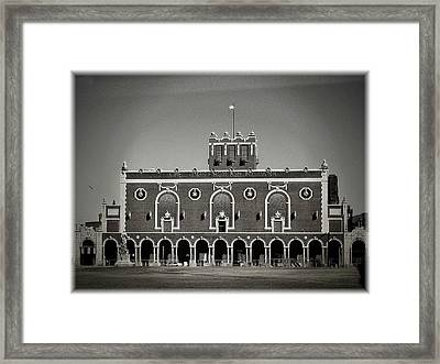 Greetings From Asbury Park Framed Print