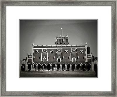 Greetings From Asbury Park Framed Print by Allen Beilschmidt