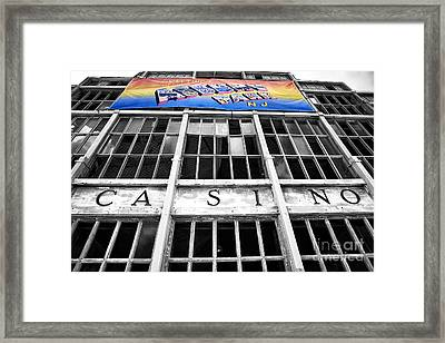 Greetings From Asbury Park Fusion Framed Print