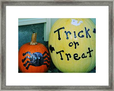 Halloween Greetings Framed Print by JAMART Photography