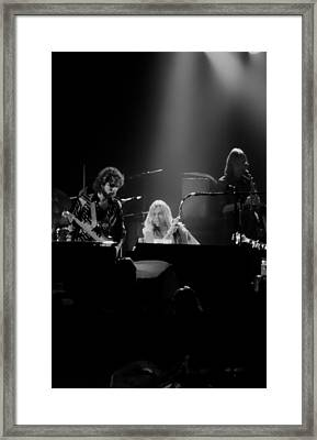 Greg Allman  Framed Print by Kevin Cable
