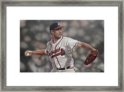 Greg Maddux Framed Print