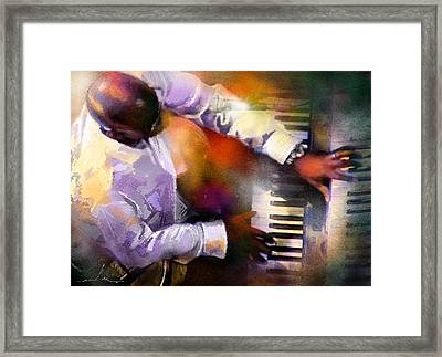 Greg Phillinganes From Toto Framed Print