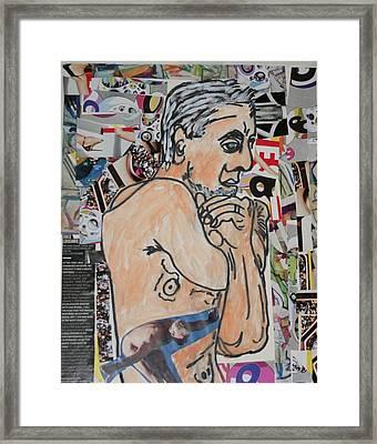 Greg Framed Print