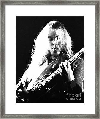 Gregg Allman 1974 Framed Print