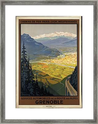 Grenoble Framed Print