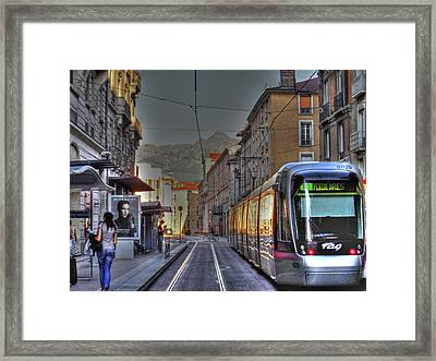 Grenoble Framed Print