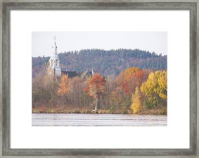 Framed Print featuring the photograph Grenville Quebec - Photograph by Jackie Mueller-Jones