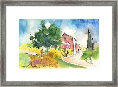 Greve In Chianti In Italy 01 Framed Print
