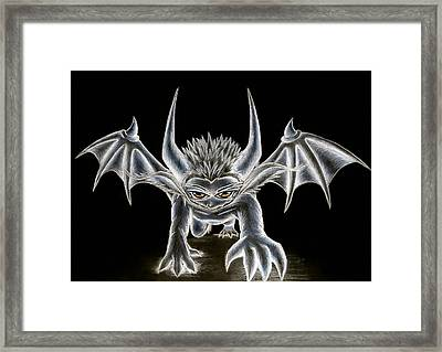 Grevil Pastel Framed Print by Shawn Dall