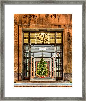 Grewen Hall Framed Print