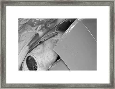 Grey Days Framed Print by Jez C Self