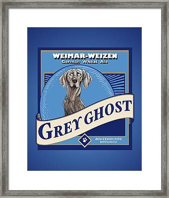 Grey Ghost Weimar-weizen Wheat Ale Framed Print