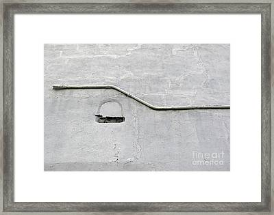 Grey Matter Framed Print by Ethna Gillespie