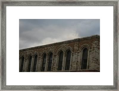 Grey Sky's Framed Print by Magi Yarbrough