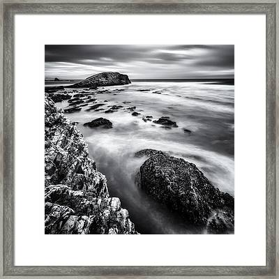 Greyhound Rock Framed Print by Steve Spiliotopoulos