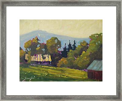 Greylock From 116 Framed Print