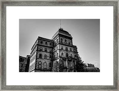 Greystone - Kirkbride Building Framed Print by Jeffrey Miklush