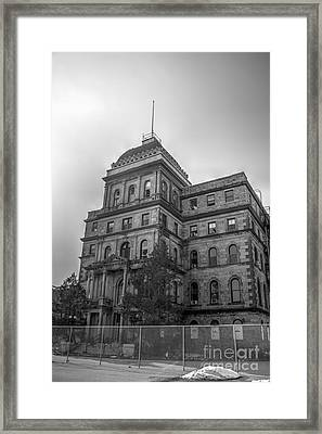 Greystone Park Hospital - Kirkbride Building Framed Print by Jeffrey Miklush