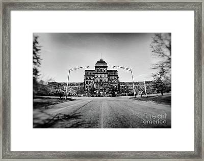 Greystone Psychiatric Hospital Framed Print