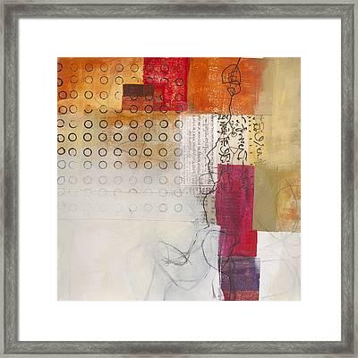 Grid 10 Framed Print by Jane Davies