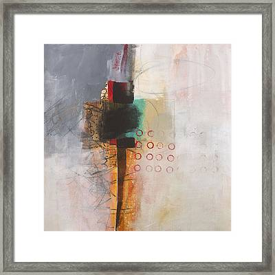 Grid 11 Framed Print by Jane Davies