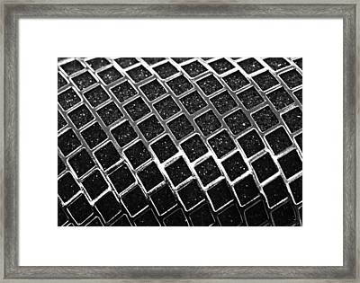 Framed Print featuring the photograph Grid by Kristin Elmquist