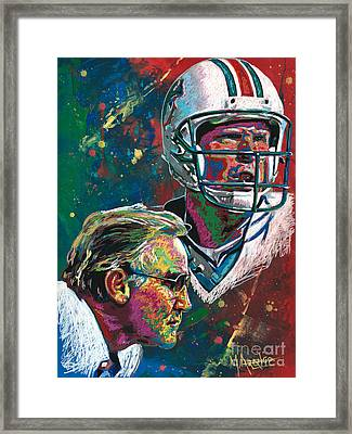 Gridiron Legends Framed Print