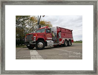 Gridley Fpd Framed Print by Roger Look