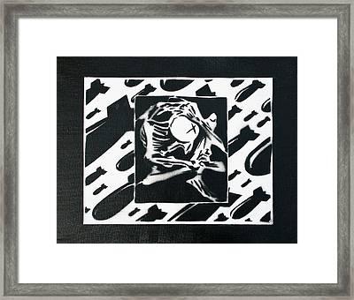 Grief Of War Framed Print by Tim Blackburn