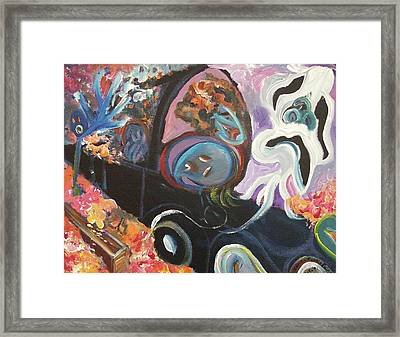 Grief Framed Print by Suzanne  Marie Leclair