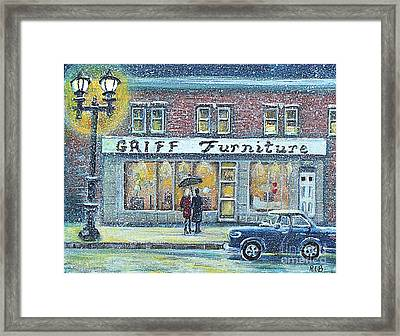Griff Furniture Framed Print by Rita Brown
