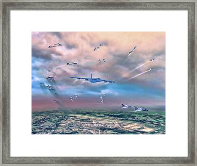 Griffiss Afb Rome Ny Framed Print by Dave Luebbert