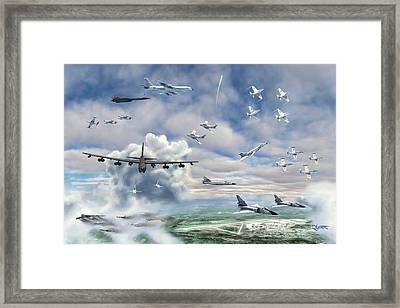 Griffiss Air Force Base Framed Print by Dave Luebbert