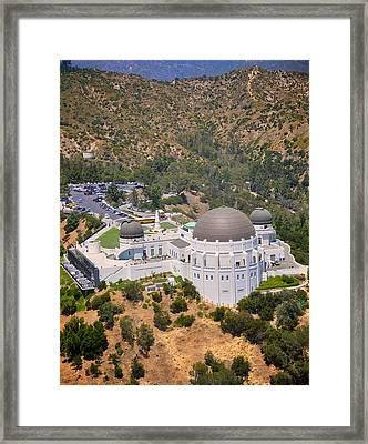 Griffith Observatory Framed Print