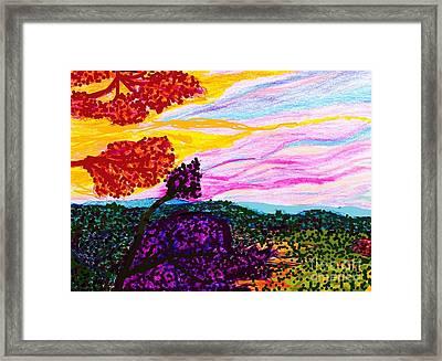 Griffith Park Splendor  Framed Print