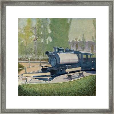 Travel Town Framed Print