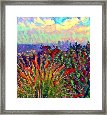 Griffith Park View Framed Print