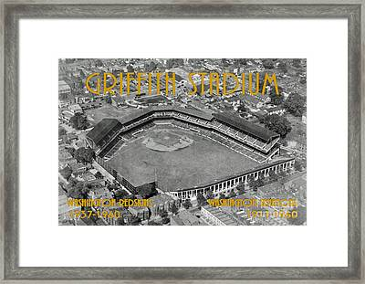 Griffith Stadium Framed Print by Jost Houk