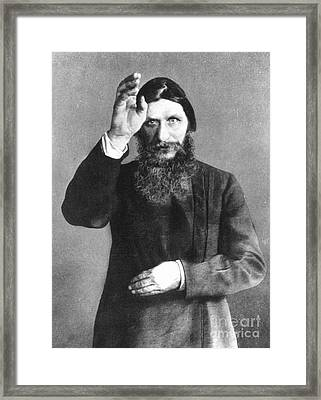 Grigori Efimovich Rasputin Framed Print by Granger
