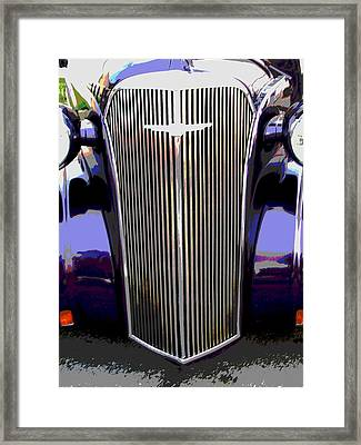 Grill Framed Print by Audrey Venute