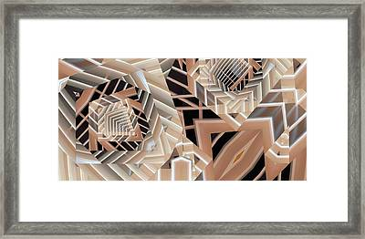 Framed Print featuring the digital art Grilled by Ron Bissett