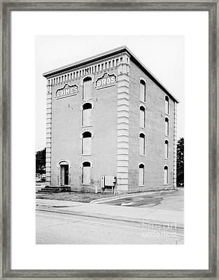 Grimes Brothers Mill Framed Print by Patrick M Lynch