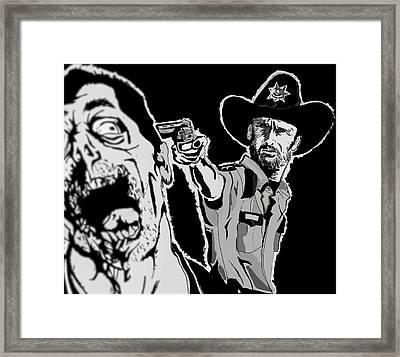 Grimes Reaper Framed Print