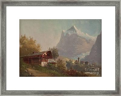 Grindelwald Framed Print by MotionAge Designs