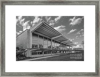Grinnell College Burling Library  Framed Print by University Icons