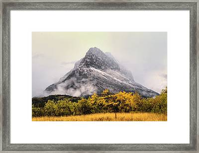 Grinnell Point Framed Print by Mark Kiver