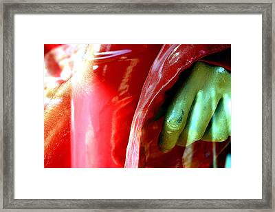 Gripped Framed Print by Jez C Self