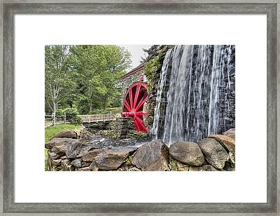Grist For The Mill Framed Print by John Hoey